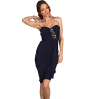 Badgley Mischka - Shirred Dress W/Bead