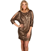 Trina Turk - Luz Fiesta Sequin Cold Shoulder Dress