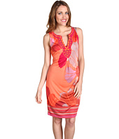 Hale Bob - Botanical Bliss Silk Sleeveless Dress