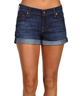 7 For All Mankind - Roll-Up Short in Nouveau New York Dark
