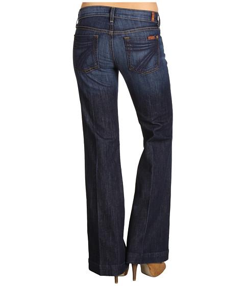 details about womens seven mankind for all 7 jeans dojo new york dark. Black Bedroom Furniture Sets. Home Design Ideas