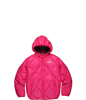 The North Face Kids - Girls' Reversible Down Moondoggy Plaid Jacket (Little Kids/Big Kids)