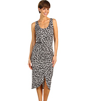 Karen Kane - Rouched Leopard Dress