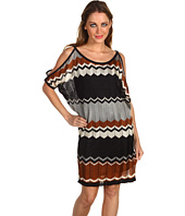 Hale Bob - Designed To Mesmerize Zigzag Knit Dress