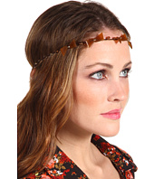 Jane Tran - Beaded Topaz Leaf Headband