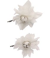 Jane Tran - Bobby Ivory Chiffon Flower Pin Set