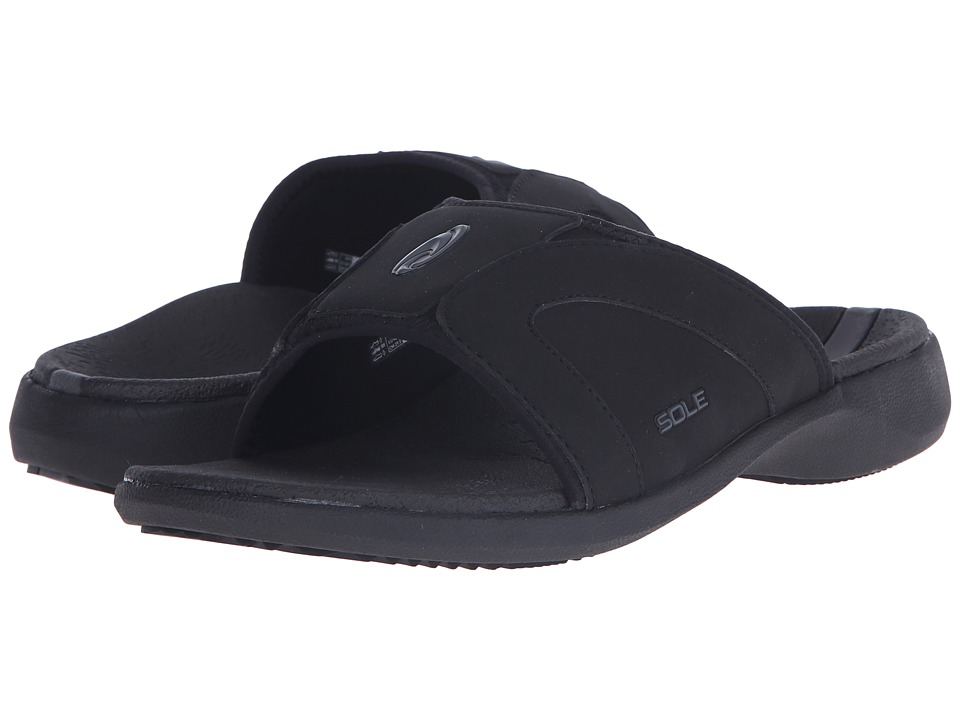 SOLE - Sport Slides (Raven) Women's Sandals