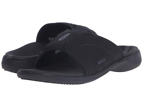 SOLE Sport Slides - Raven