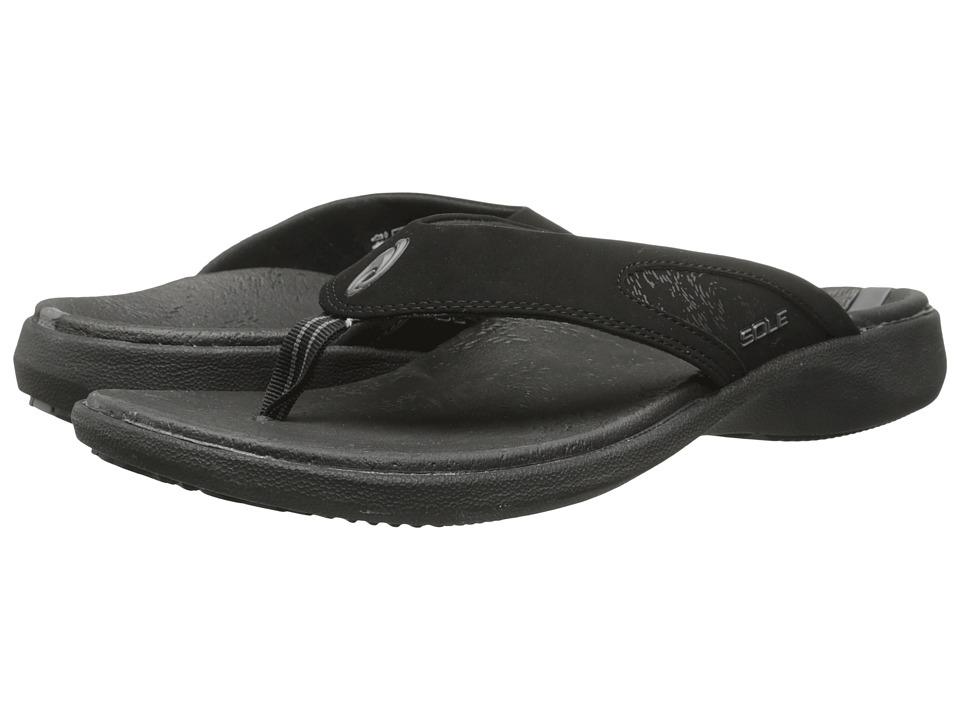 SOLE - Sport Flips (Raven) Mens Sandals