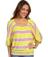 Splendid - Palm Stripe Blouse