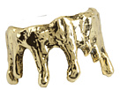 Obey - Wax Drip Ring (Gold) - Jewelry