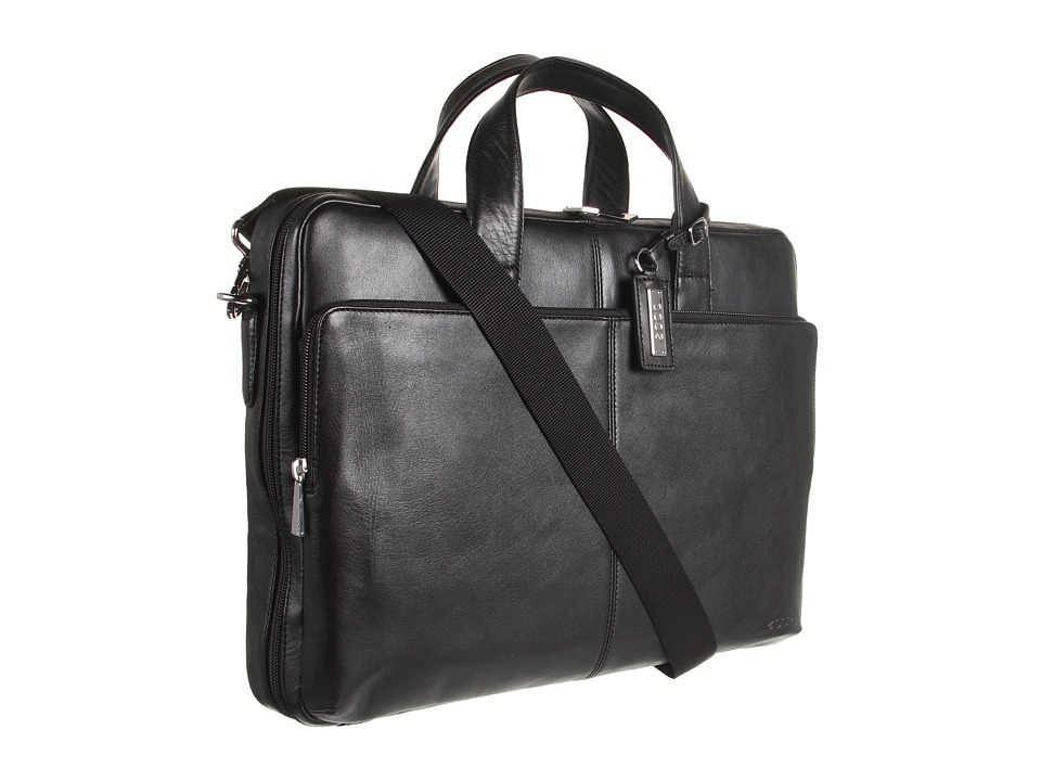 ECCO - Business Laptop Bag (Black) Computer Bags