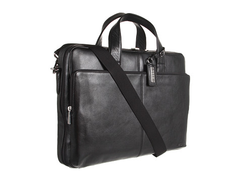 ECCO - Business Laptop Bag (Black) - Bags and Luggage