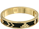House of Harlow 1960 Aztec Bangle with Black Leather