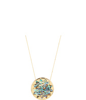 House of Harlow 1960 - Sunburst Pendant with Abalone Shell
