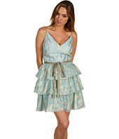 Badgley Mischka - Mark & James Mitered Tiered Dress