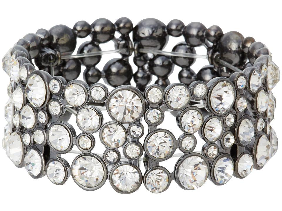 GUESS - Bracelet 179632-21 (Hematite/Crystal) Bracelet