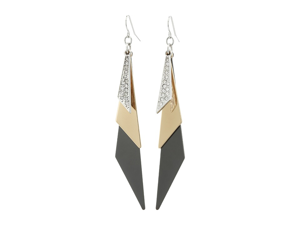 GUESS - 179955-21 (IR/Hematite/Gold) Earring