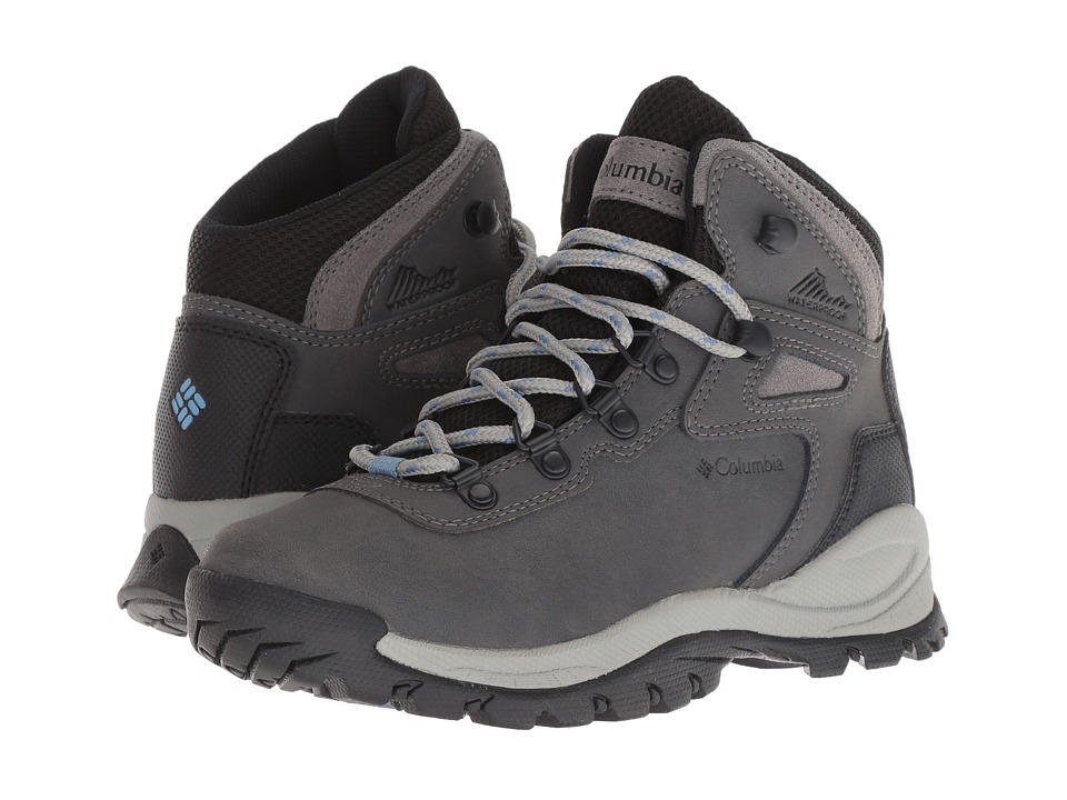 Columbia - Newton Ridge Plus (Quarry/Cool Wave) Women's Hiking Boots