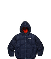 The North Face Kids - Boys' Reversible Down Moondoggy Plaid Jacket 12 (Little Kids/Big Kids)