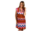 Maison Scotch - Tropical Bohemian Summer Dress (Print) - Apparel