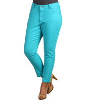 NYDJ Plus Size - Plus Size Alisha Fitted Ankle Colored Denim
