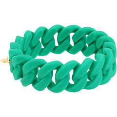 Marc by Marc Jacobs Rubber Turnlock Bracelet Fluoro Pink - Zappos Couture