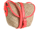 Marc by Marc Jacobs - Preppy Straw Canteen (Fluoro Coral) - Bags and Luggage