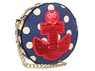 Betsey Johnson - Betsey's Anchor Crossbody (Blue) - Bags and Luggage