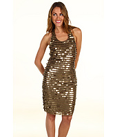 BCBGMAXAZRIA - Iman Bronze Coin Dress
