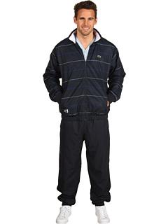 Fine Stripe Track Suit by Lacoste at Zapposcom Fine Stripe Track Suit by