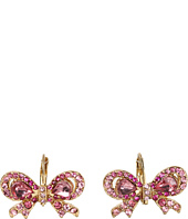 Betsey Johnson - Iconic Pretty Bow Earrings