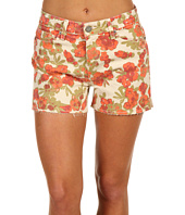 Paige - Lola High Rise Cut-Off Short in Chello
