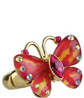 Betsey Johnson - Hawaiian Luau Butterfly Ring