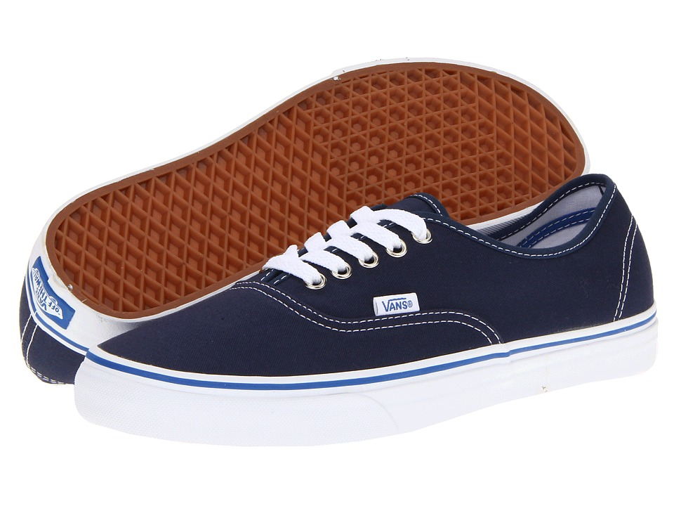 Vans Authentic Core Classics (Dress Blues/Nautical Blue) Skate Shoes