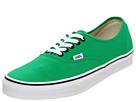Vans - Authentic (Bright Green/Black) - Footwear