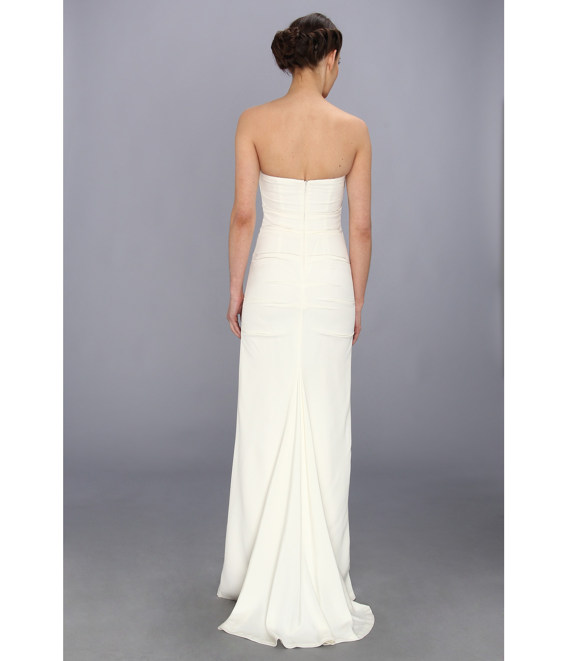 Nicole Miller Sleeveless Wedding Gown