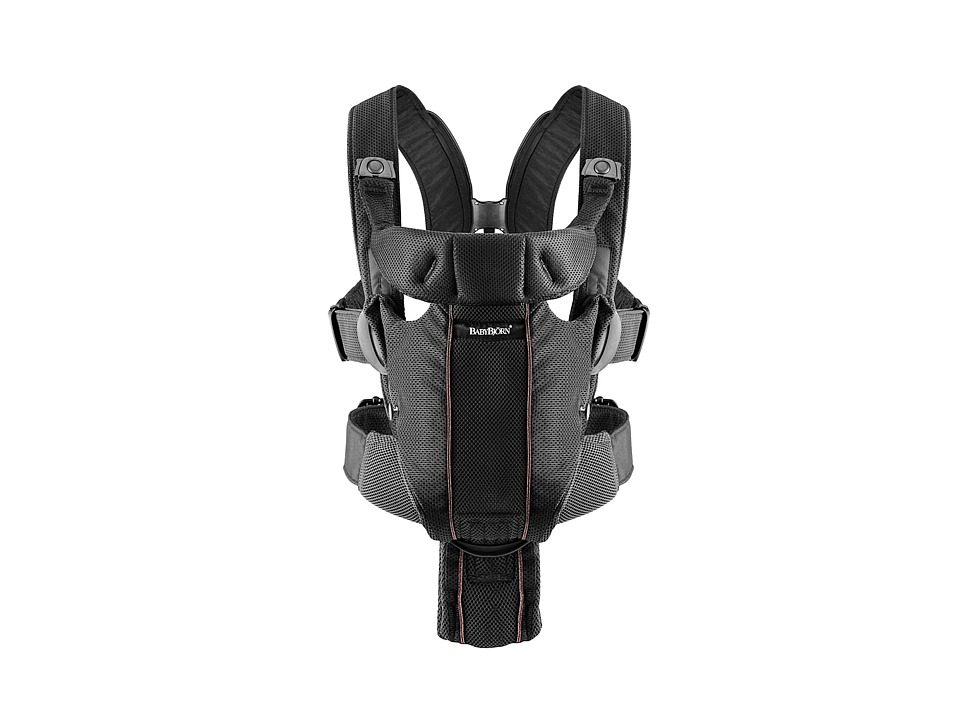 BabyBjorn Carrier Miracle Black Mesh Carriers Travel