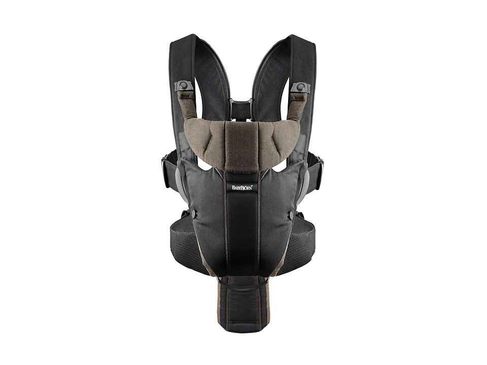 BabyBjorn Carrier Miracle Black/Brown Organic Carriers Travel