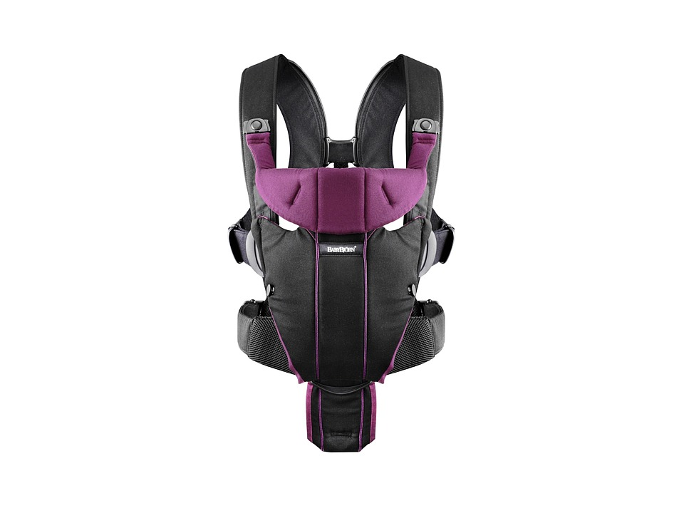 BabyBjorn Carrier Miracle Black/Purple Carriers Travel