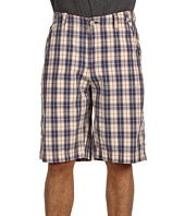 Lucky Brand - Plaid Carmel Short