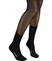 BOOTIGHTS - Sheer Argyle Tight/Mid-Calf Sock