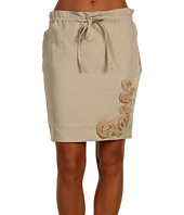 LOVE Moschino - Skirt With Drawstring and Flower Detail