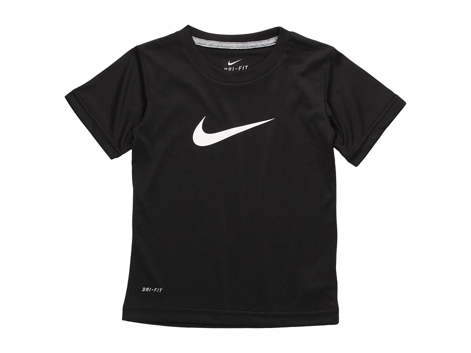 Nike Kids - Legend S/S Tee (Little Kids) (Black) Boys T Shirt