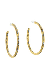Vince Camuto - Basic Ears Thick Small Diamond Hoops