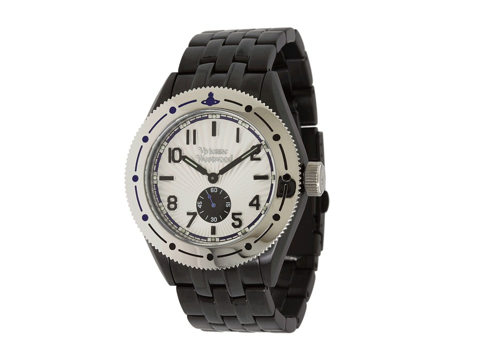 Vivienne Westwood - Saville Watch (Black/Stainless Steel) Watches