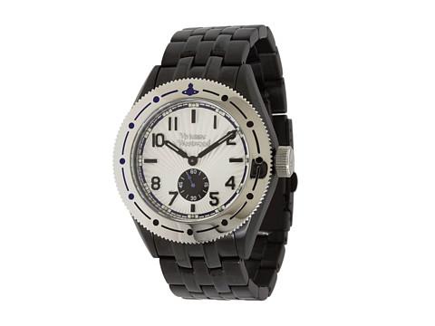 Vivienne Westwood Saville Watch - Black/Stainless Steel