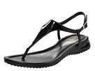 Cole Haan - Air Bria Thong Sandal (Black Patent) - Footwear