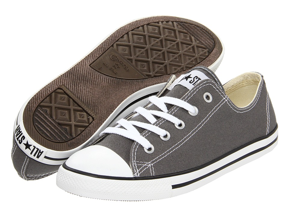 Converse Chuck Taylor(r) All Star(r) Dainty Ox (Charcoal)...