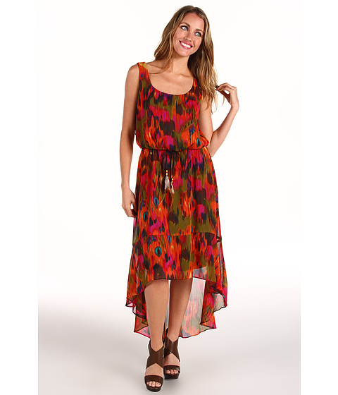 rsvp - Priela Dress (Orange) - Apparel